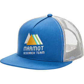 Marmot Trucker Hat, varsity blue/moonbeam